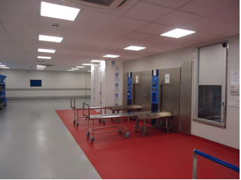 Building projects carried out work at Synergy Healthcare
